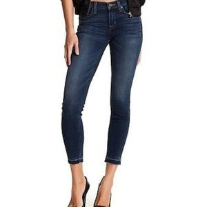 HUDSON Jean Natalie Released Hem Crop Skinny Jeans